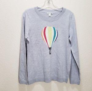 Garnet hill hot air balloon wool sweater